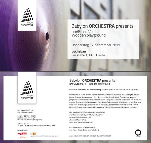 Babylon ORCHESTRA presents unVEILed Vol. II